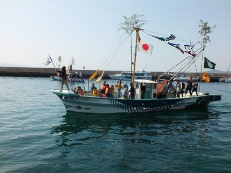 3 - Team Ogi Boat Dance