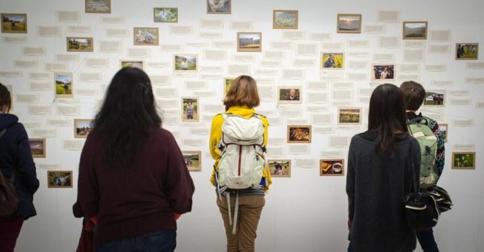 Final Straw Gallery exhibit in the UK