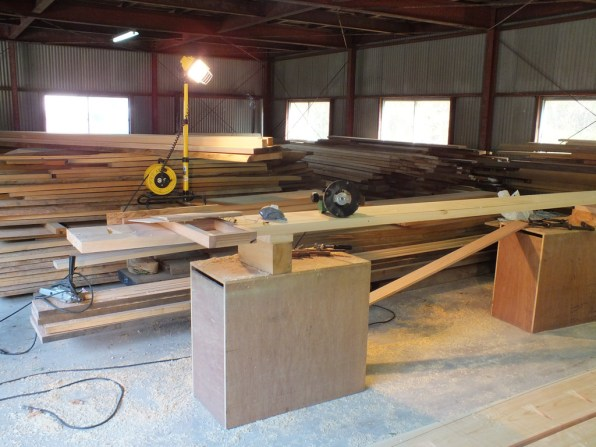 Boat Building - the beginning - 1