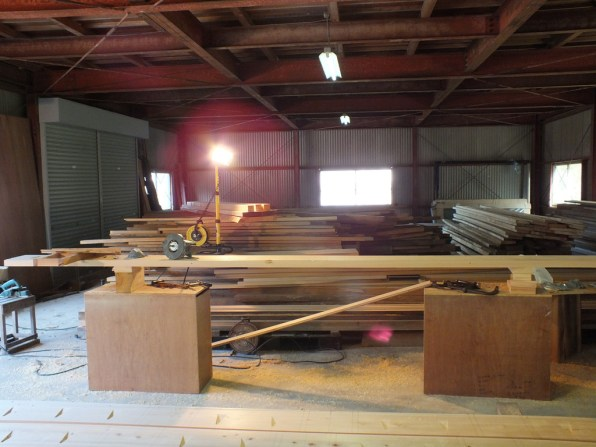 Boat Building - the beginning - 2