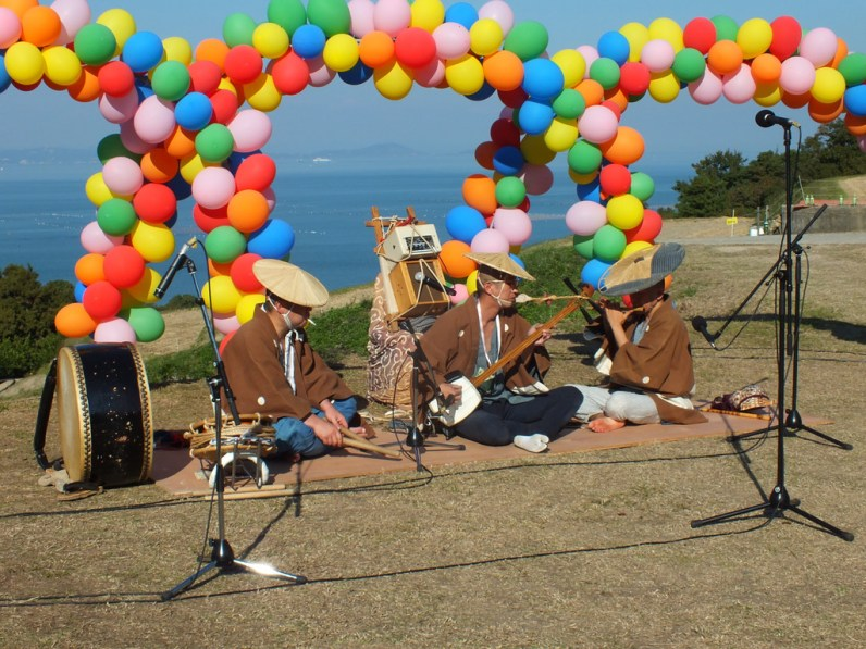 Harvest Festival and Seppuku Pistols on Teshima - 18