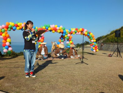 Harvest Festival and Seppuku Pistols on Teshima - 19