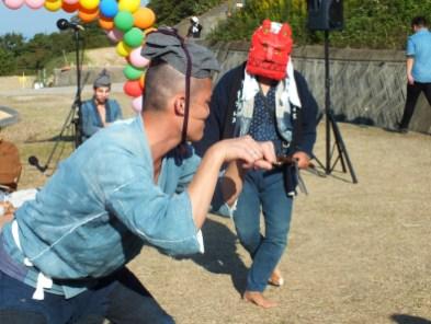 Harvest Festival and Seppuku Pistols on Teshima - 20