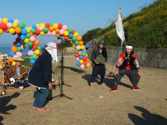 Harvest Festival and Seppuku Pistols on Teshima - 24