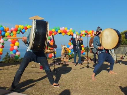 Harvest Festival and Seppuku Pistols on Teshima - 25