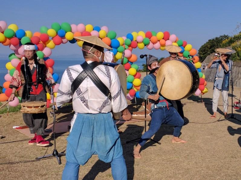 Harvest Festival and Seppuku Pistols on Teshima - 29