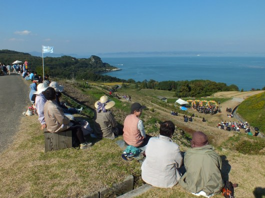 Harvest Festival and Seppuku Pistols on Teshima - 6