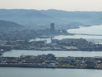 Takamatsu from Yashima - 2