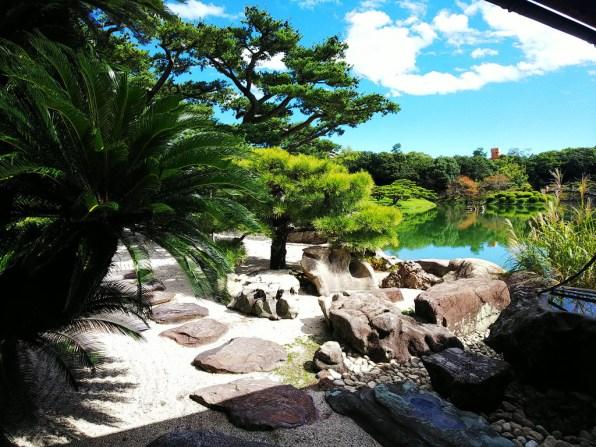 Ritsurin Garden from Kikugetsu-tei - 9