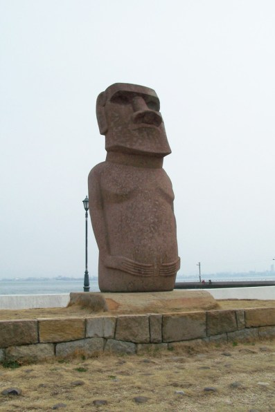 You know about the Moai, right?