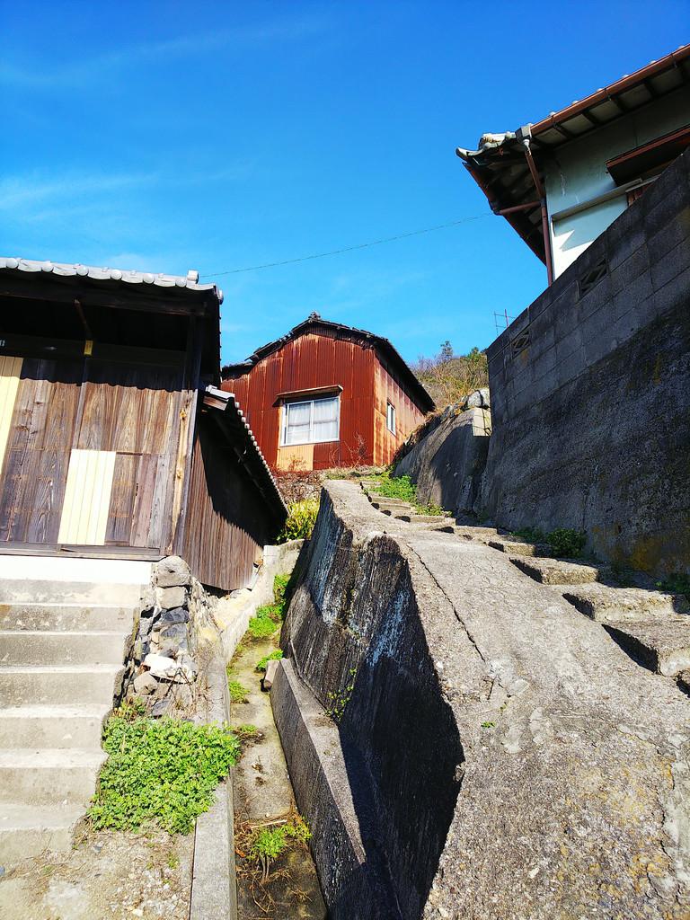 Sunny Winter Day on Ogijima