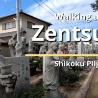 Walking around Zentsu-ji