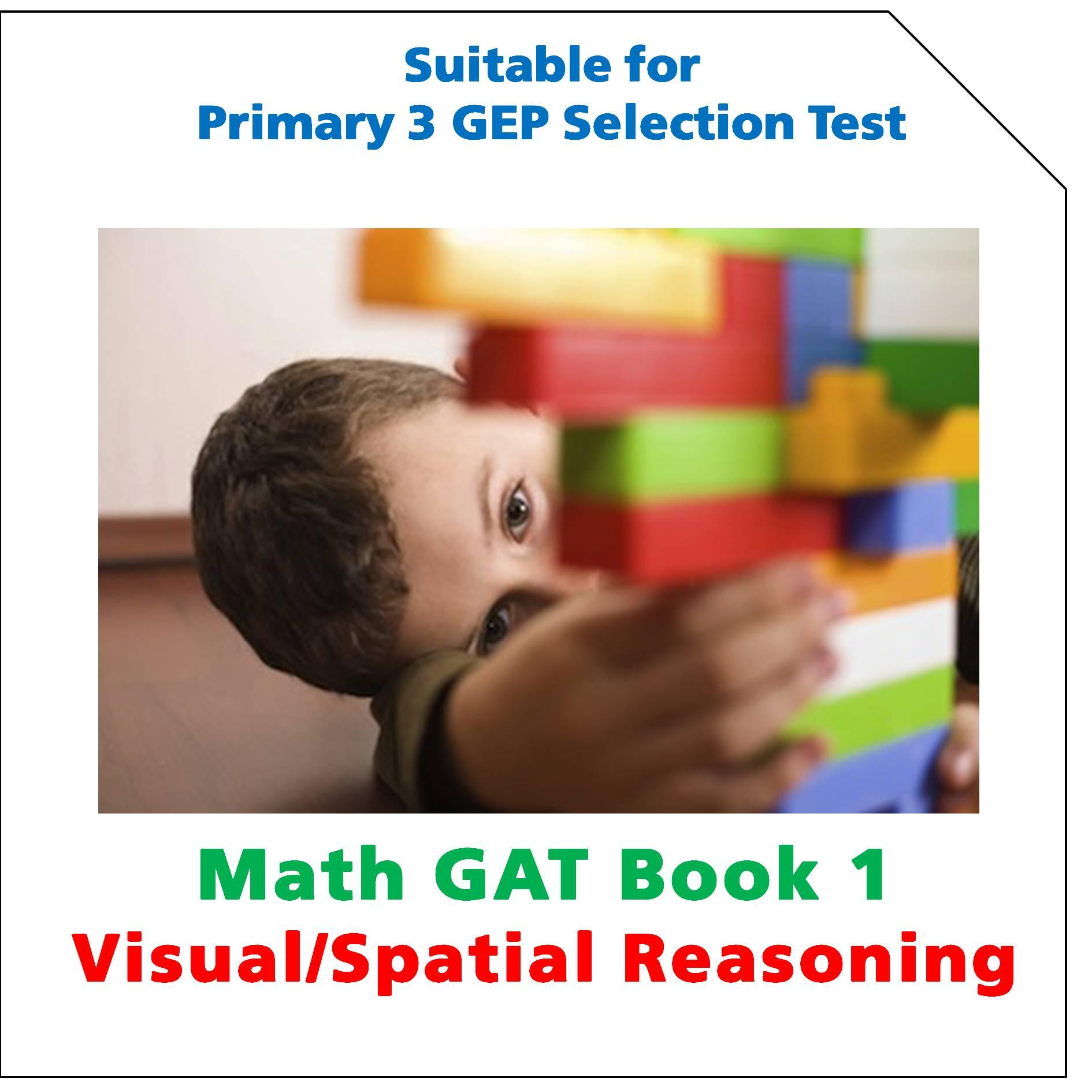 P3 Math Gat Book 1 Visual Spatial Reasoning Setquestions