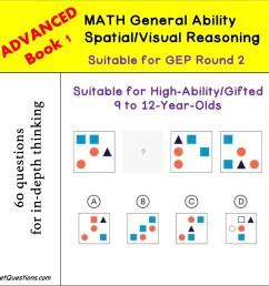 Spatial Reasoning Worksheet   Printable Worksheets and Activities for  Teachers [ 1181 x 1181 Pixel ]
