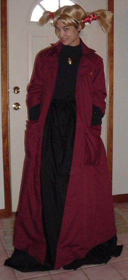 Witch Hunter Robin Costume Cosplay
