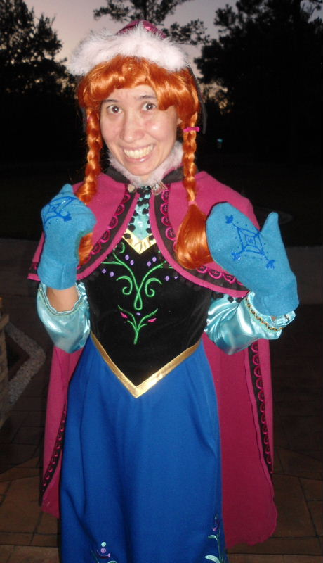 Princess Anna Wintry Nordic Costume