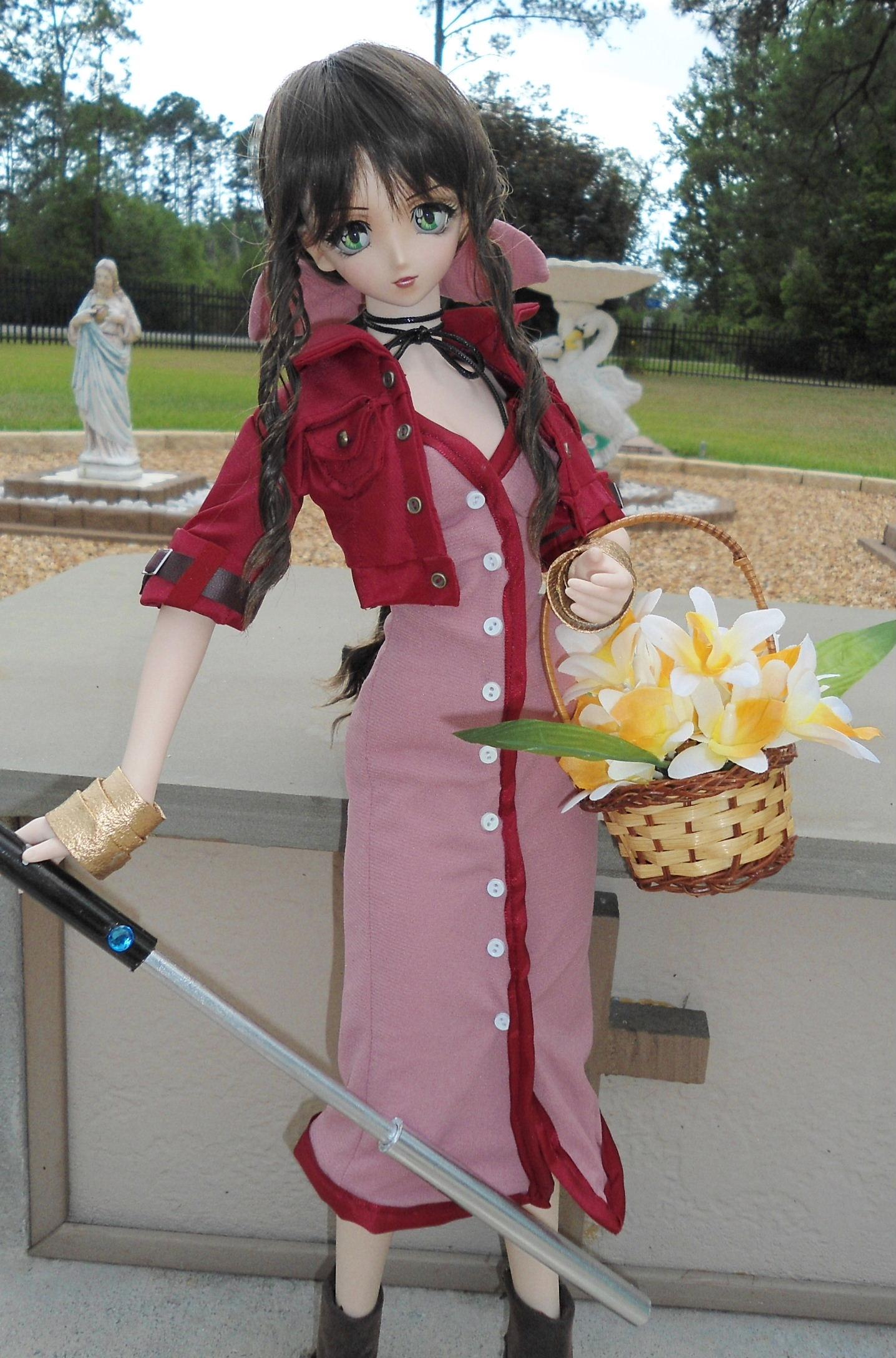 Aerith Gainsborough 24 Volks of Japan Doll