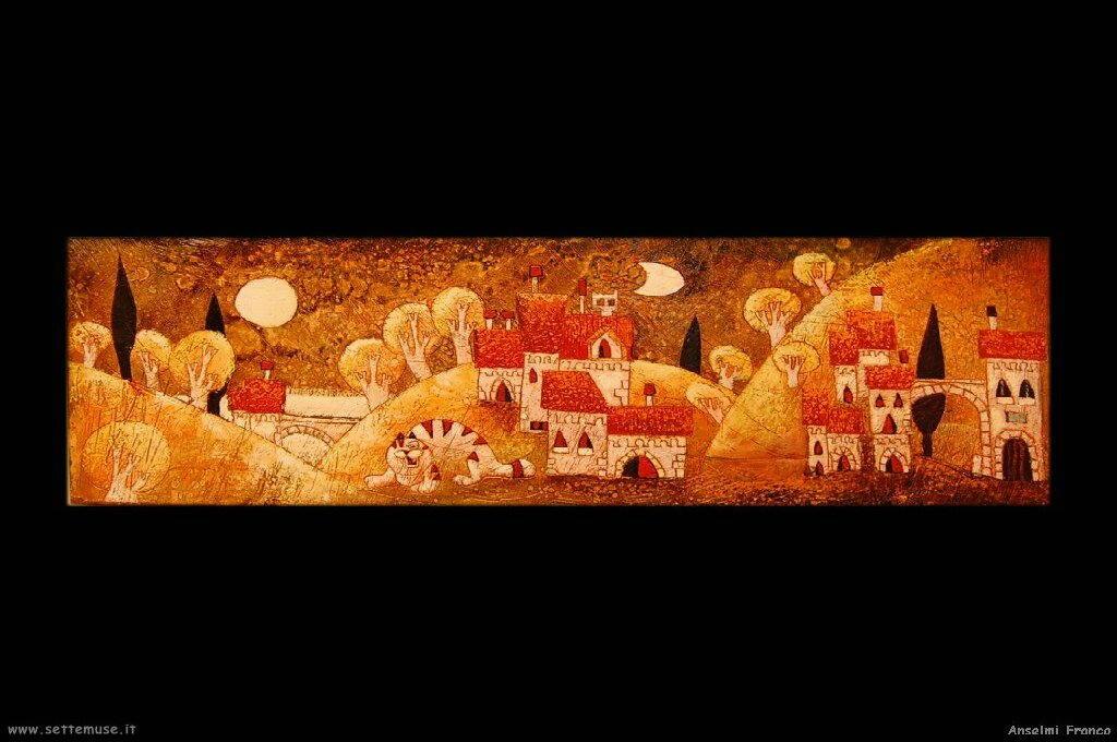 ANSELMI FRANCO pittore biografia foto opere  Settemuseit