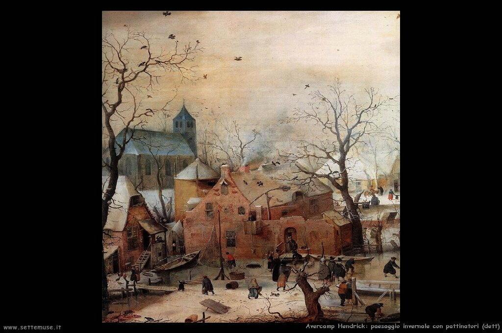 AVERCAMP HENDRICK pittore biografia foto opere  Settemuseit
