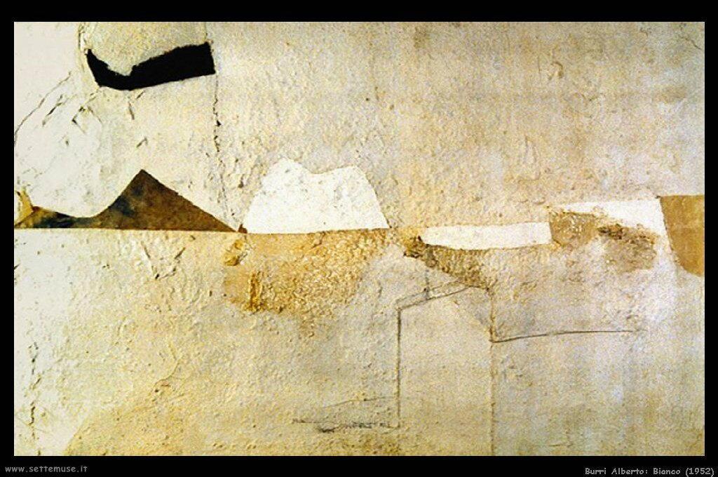 BURRI ALBERTO pittore biografia foto opere  Settemuseit