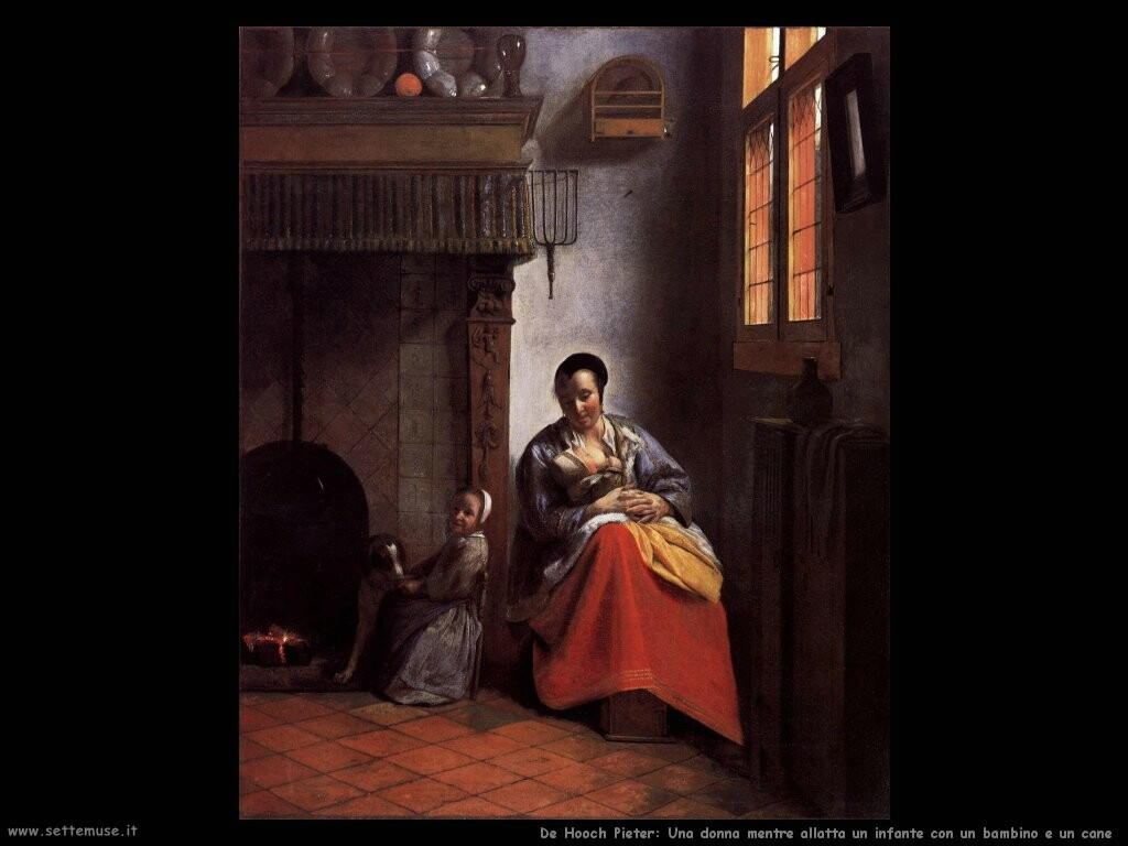 DE HOOCH PIETER pittore biografia foto opere  Settemuseit