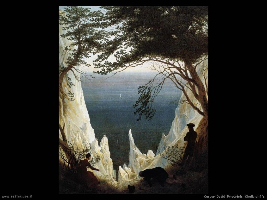 FRIEDRICH CASPAR DAVID biografia quadri foto per sfondi dipinti  Settemuseit
