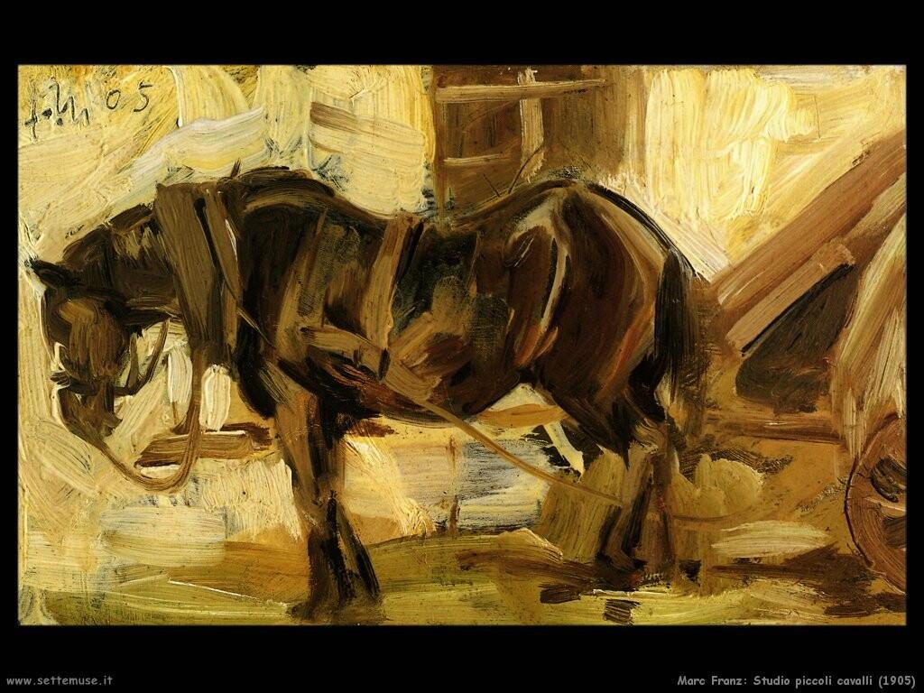 MARC FRANZ pittore biografia foto opere  Settemuseit