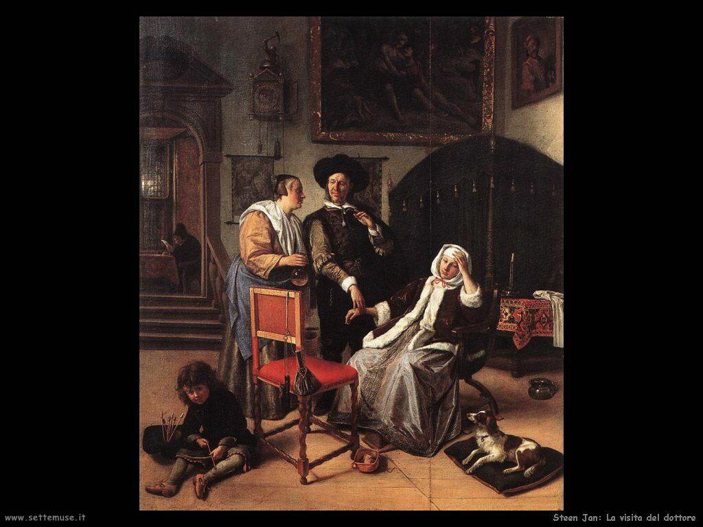 STEEN JAN pittore biografia foto opere  Settemuseit