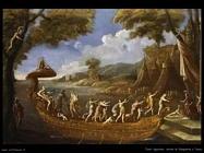La llegada de Agostino Tassi Cleopatra en Tarso