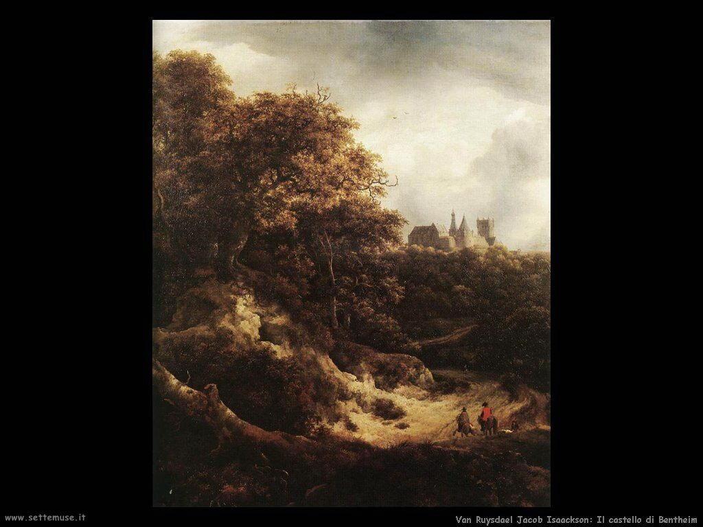 VAN RUYSDAEL JACOB ISAACKSZON pittore biografia foto opere