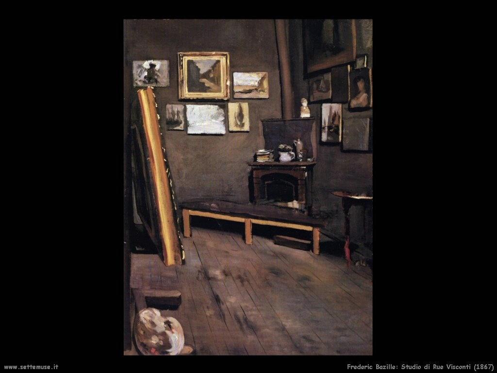 FREDERIC BAZILLE pittore biografia opere quadri  Settemuseit