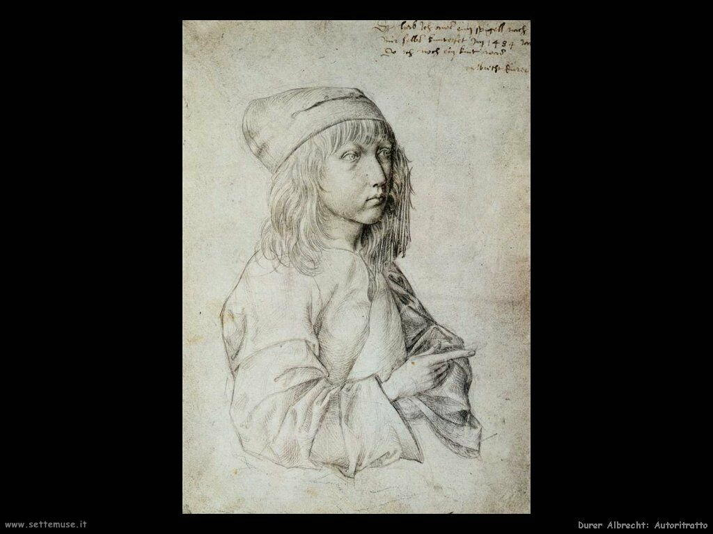 ALBRECHT DURER pittore I ritratti pag5  Settemuseit