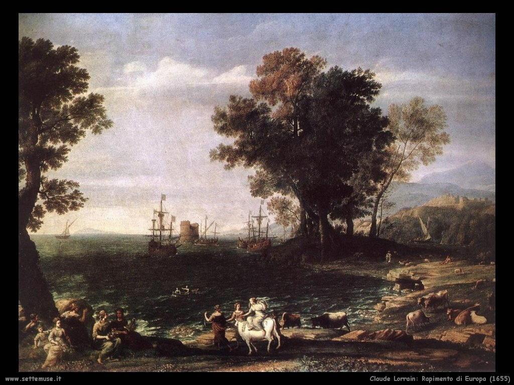 CLAUDE LORRAIN pittore biografia opere quadri  Settemuseit