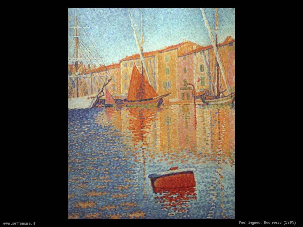 PAUL SIGNAC pittore biografia opere quadri  Settemuseit