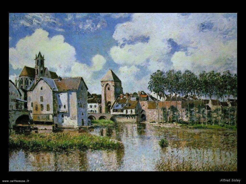 ALFRED SISLEY pittore biografia 40 foto delle sue opere