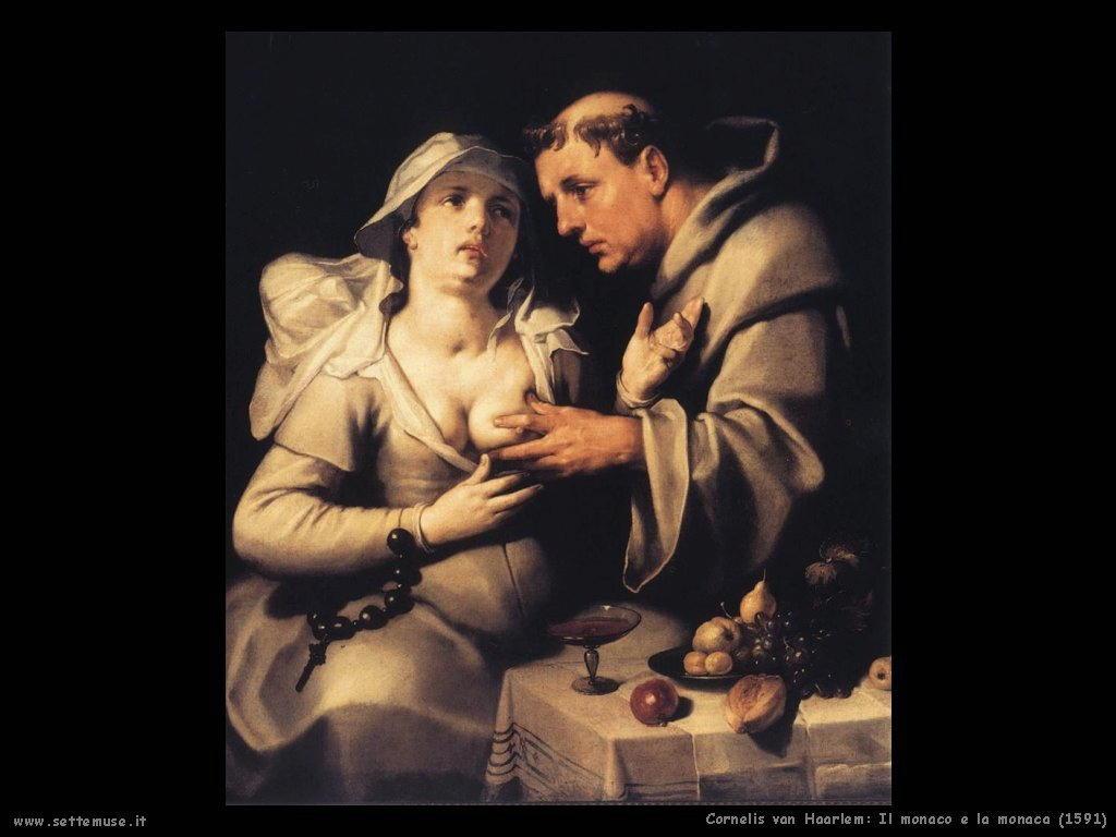 Cornelis van Haarlem: Monaco e Monaca (1591)