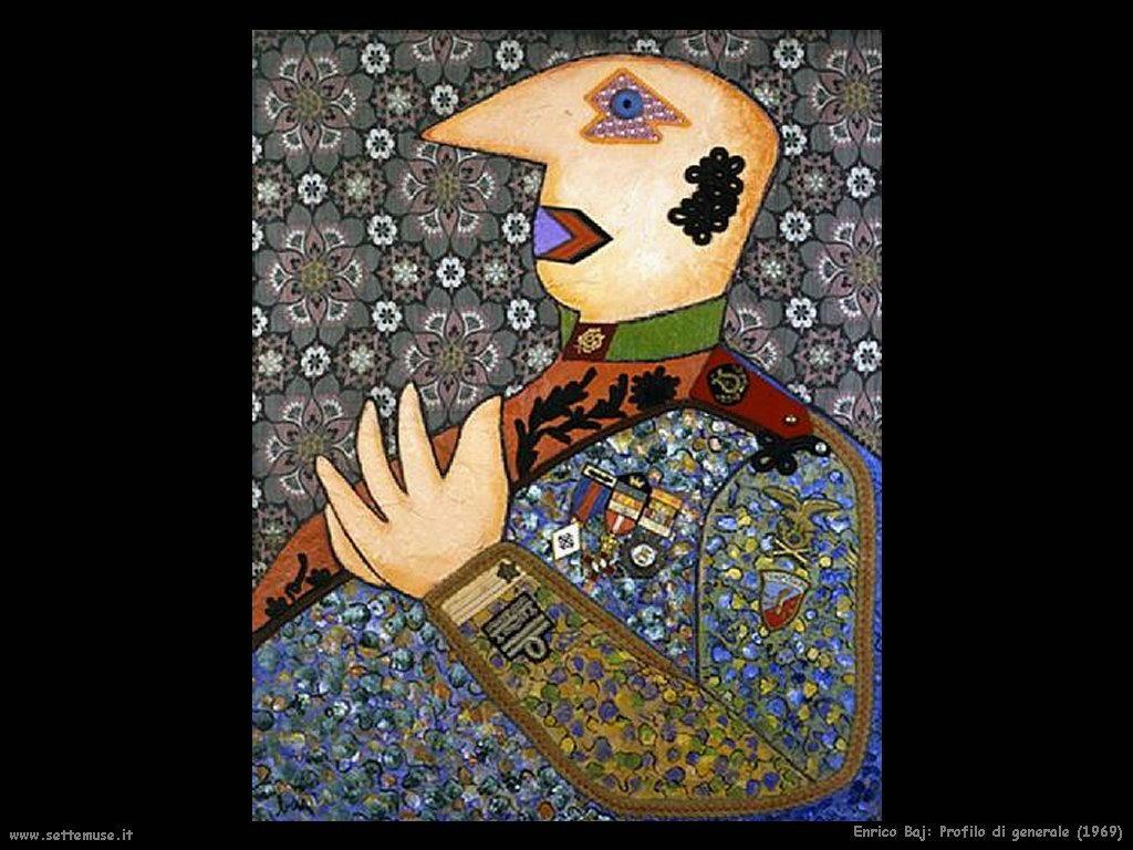 ENRICO BAJ pittore biografia opere  Settemuseit