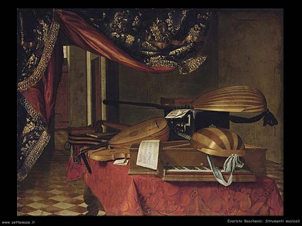 EVARISTO BASCHENIS pittore biografia opere  Settemuseit