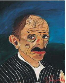 Ritratto di Antonio Ligabue