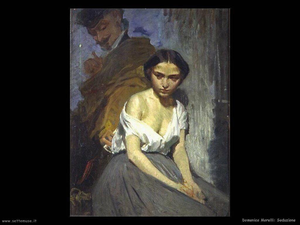 DOMENICO MORELLI pittore biografia opere  Settemuseit