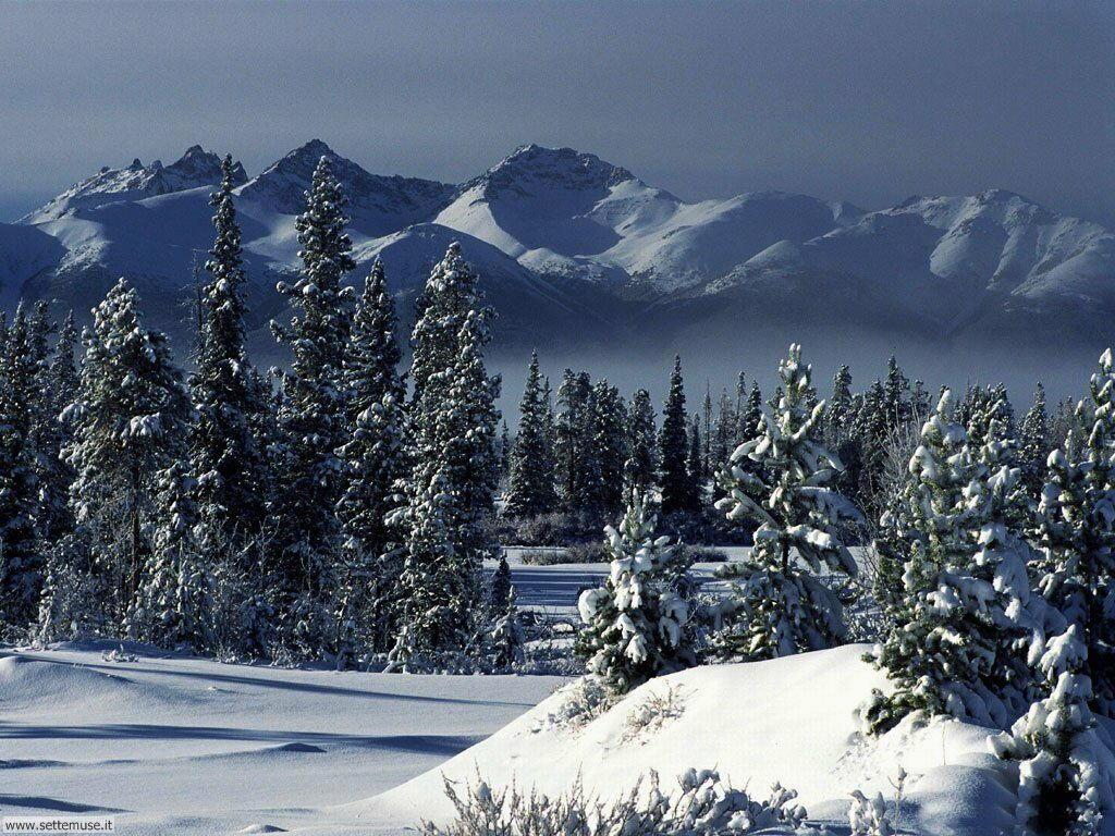 Immagini desktop paesaggi natalizi  Immagini di Natale