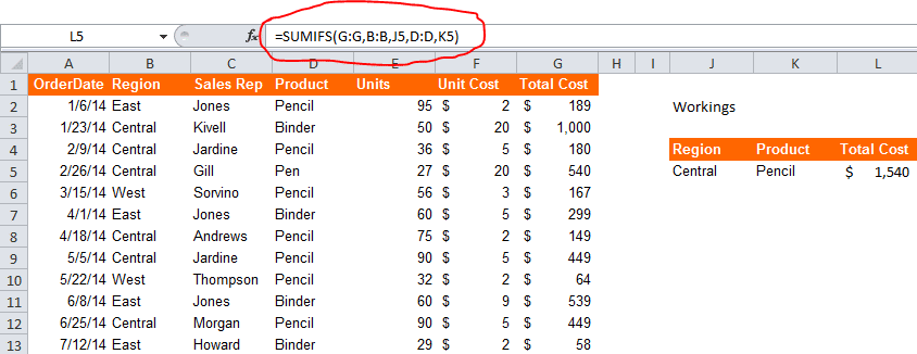 Excel Sumifs Formula Your Business Can T Live Without