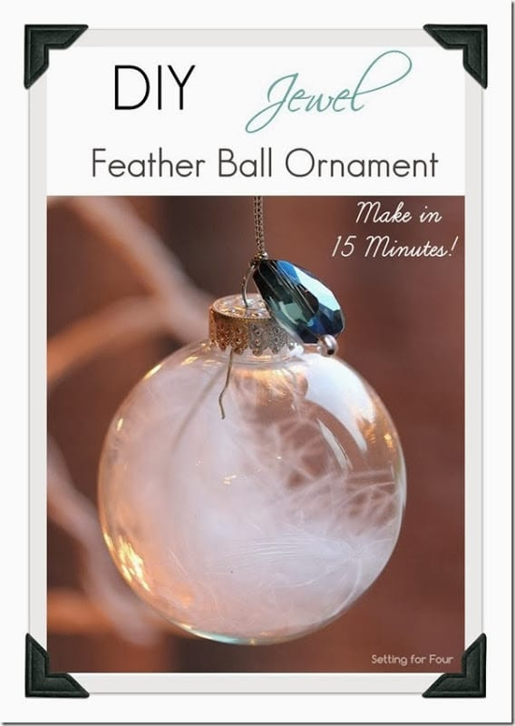 Fall Feather Wallpaper 15 Minute Jewel And Feather Ball Ornament Setting For Four