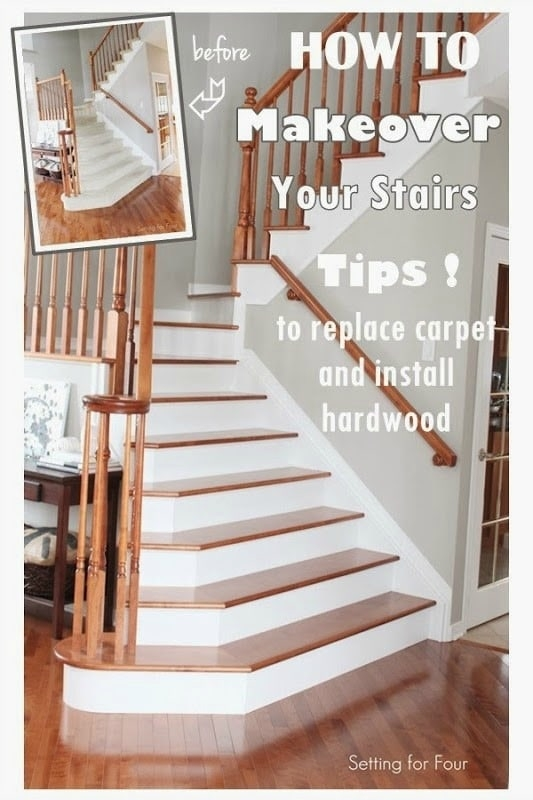 How To Makeover Your Stairs Find A Good Pro Tips To Replace | Good Carpet For Stairs | Treads Windy Stair | American Style | Stair Railing | Beautiful | Runner
