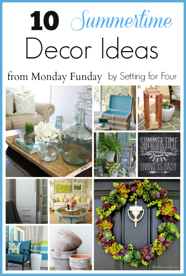 10 Summer Decor Ideas