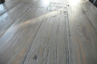 DIY Weathered Wood Stain Finishes - Setting for Four