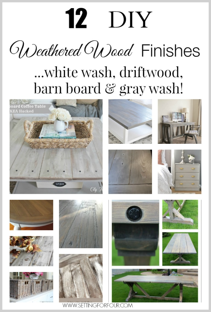 White Wood Stain Furniture