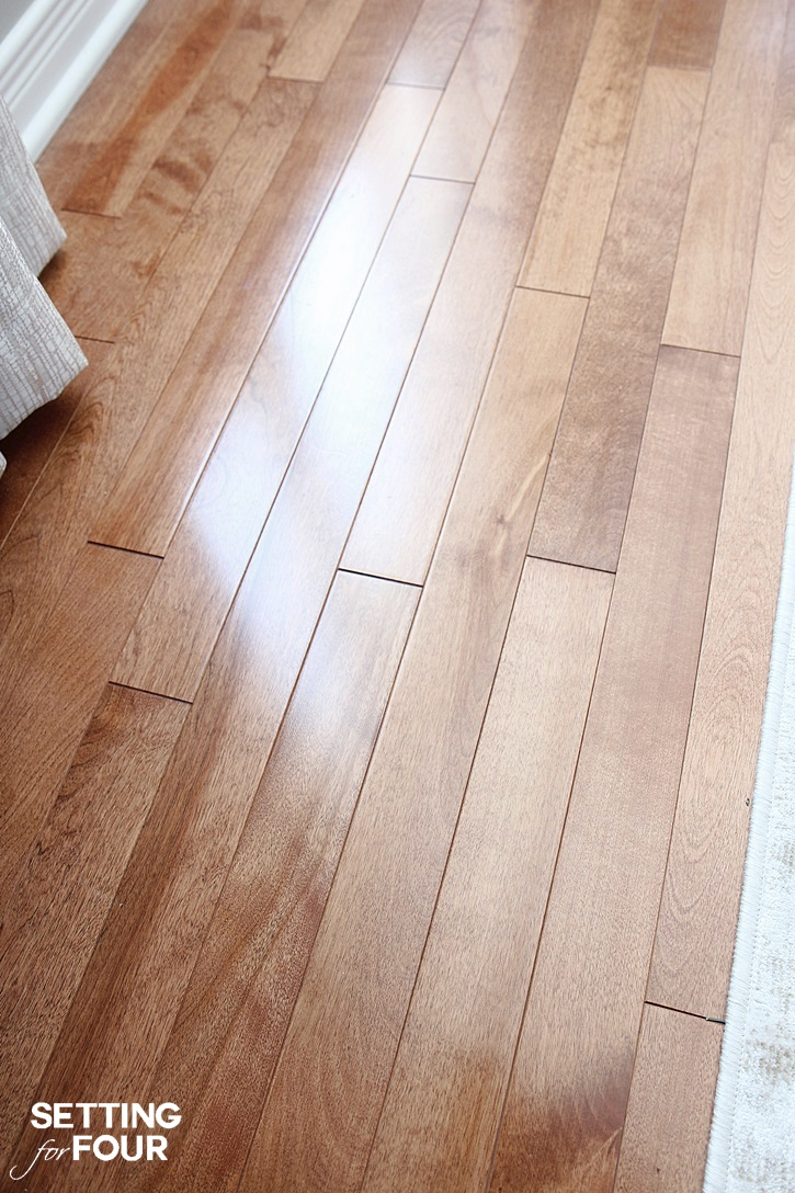Deep Cleaning Your Hardwood Floors Setting For Four