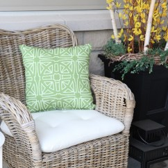 Do It Yourself Patio Chair Cushions Folding Rentals Orlando How To Make Outdoor Waterproof Diy Hack Setting For Four Learn In A Jiffy With This