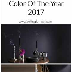 Paint Colors For Living Rooms With White Trim Blue Brown Room Curtains Benjamin Moore Shadow: Color Of The Year 2017 - Setting ...